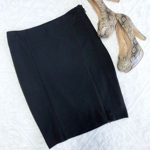 bebe, Black Bodycon Mini Skirt EUC Size 2